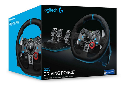 combo volante + pedales + palanca logitech g29 pc ps4 ps3