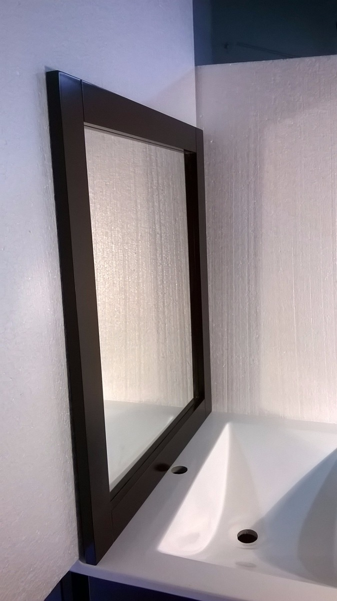Combo Wengue 60 Mesada + Marco Espejo 60 X 70 Sin Griferia - $ 2.330 ...