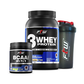 07e571b05 Combo Whey - Whey Protein FTW para Massa Muscular no Mercado Livre Brasil