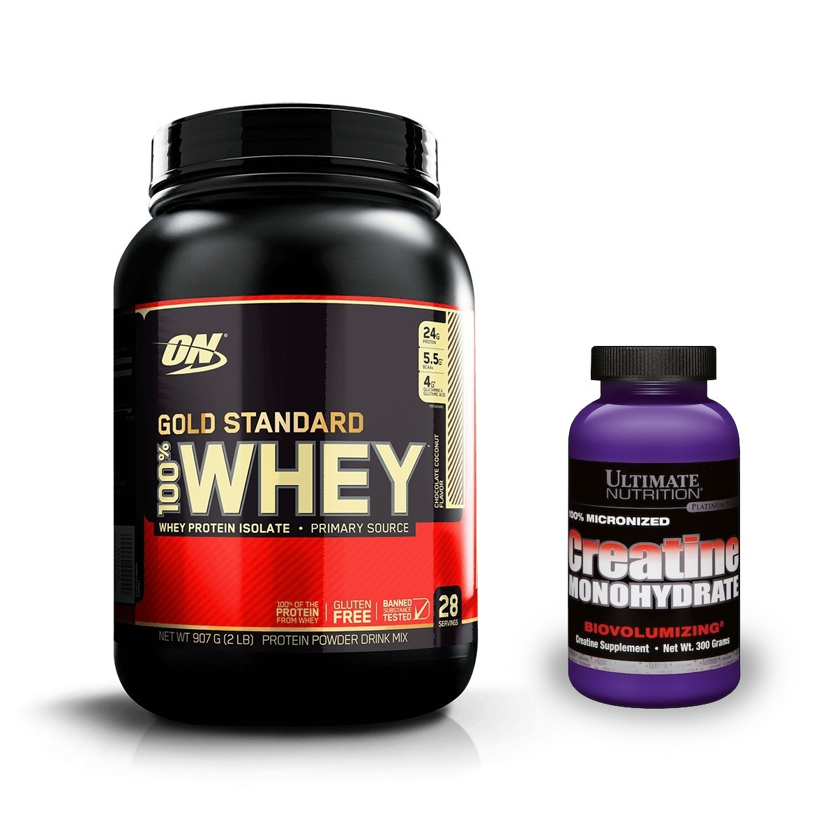 197f9f21b combo whey gold standard + creatina ultimate nutrition. Carregando zoom.