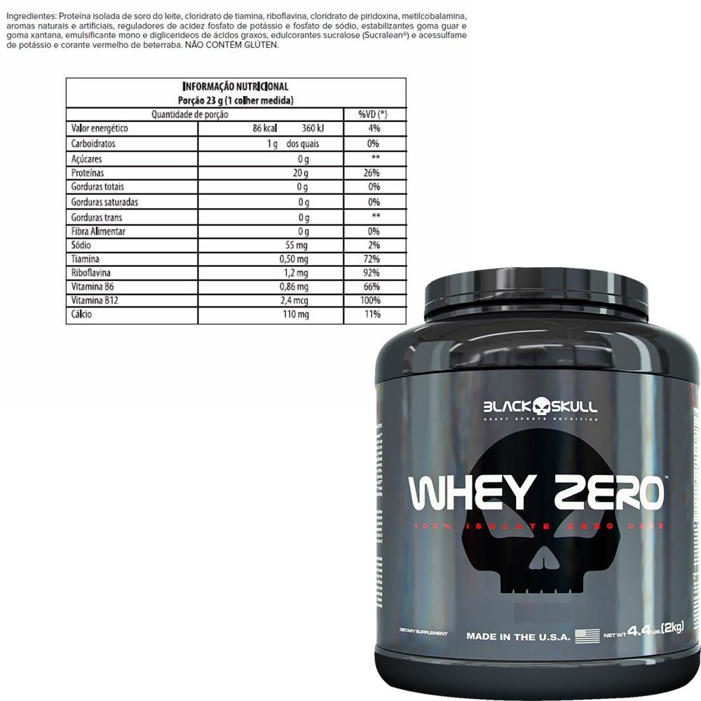 combo whey protein isolado zero - black skull. Carregando zoom. cb003914afb6f