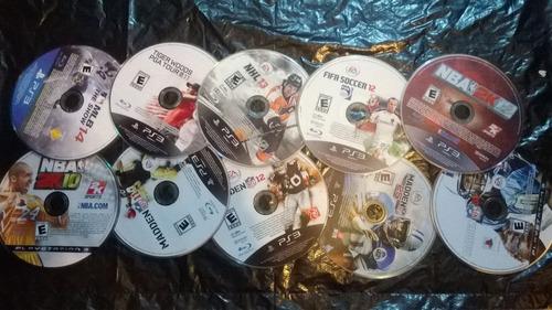 combo x 10 juegos deportivos ps3 baratos + envio gratis