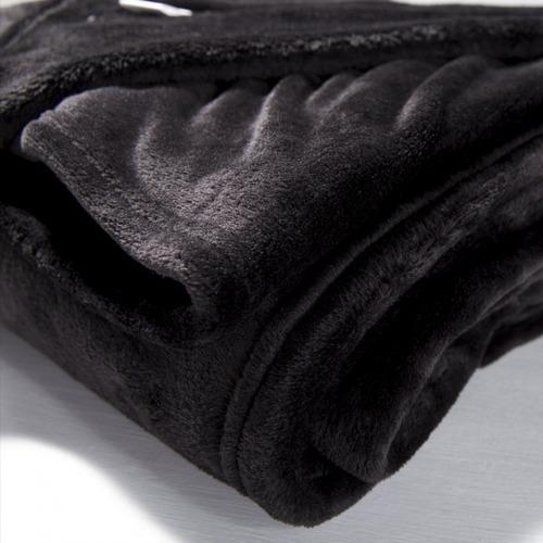 combo x 2 frazadas flannel queen size muy suaves danubio®