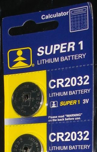 combo x 20 baterias litio cr2032 3v para calculadoras etc