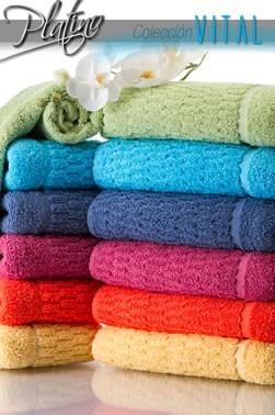 combo x 3 jgo toalla y toallón vital seclar 550gr/m2  hogar