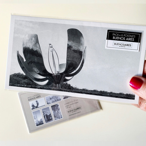 combo x 3 pack de 6 postales foto buenos aires