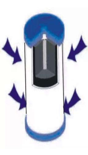 combo x 3 repuestos p/filtro de agua 5 micrones zatoichi