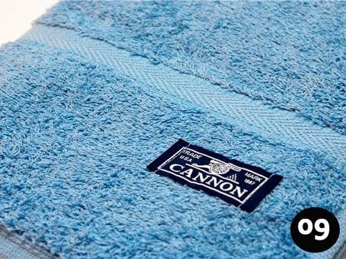 combo x 3 toalla cannon 550gr/m2 100% algodón  hogar y hotel