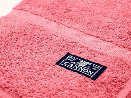 combo x 4 juegos de toalla y toallón cannon 520 100% algodón