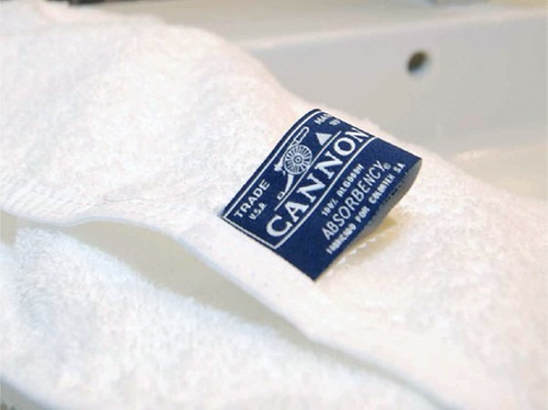 combo x 8 toallas cannon institucional 550 grs 100% algodón
