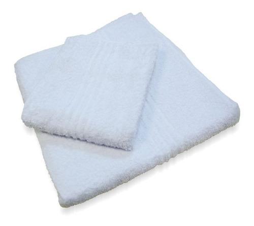 combo x10 toallones blancos peluqueria/hotel envio gratis