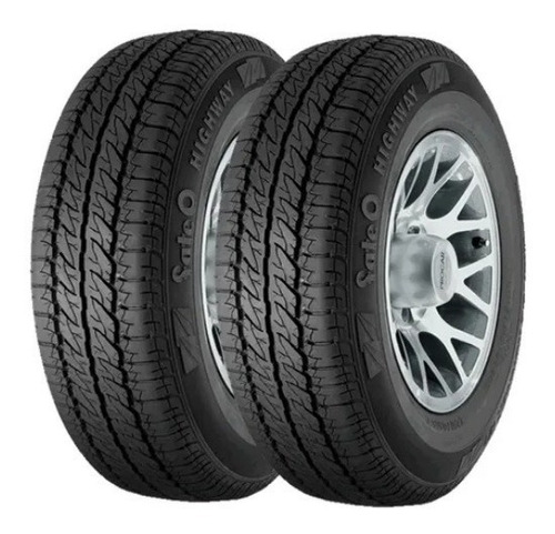 combo x2 neumáticos 165/70 r14  89r fate  range runner h/t