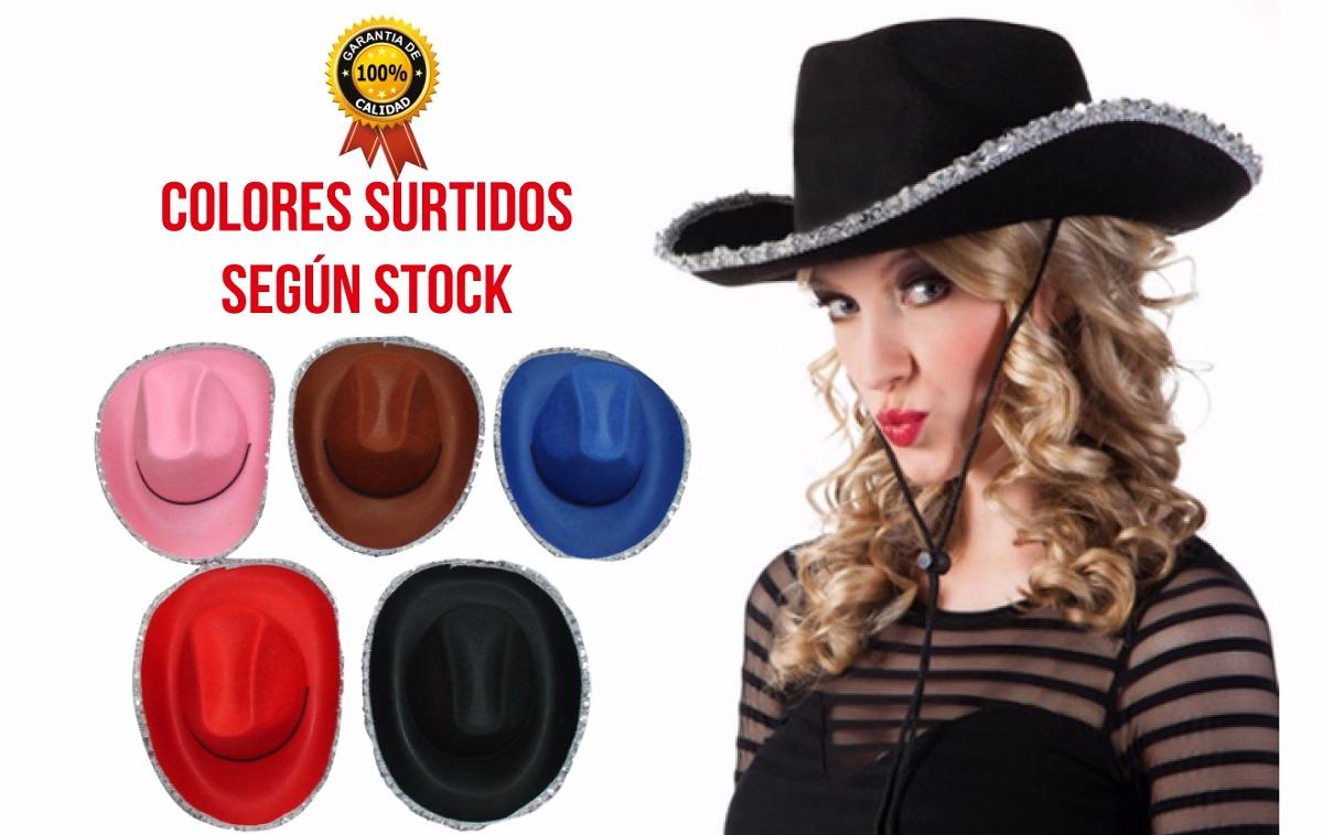 fb991db475950 combo x20 sombrero vaquero con ribete cowboy cotillón carioc. Cargando zoom.