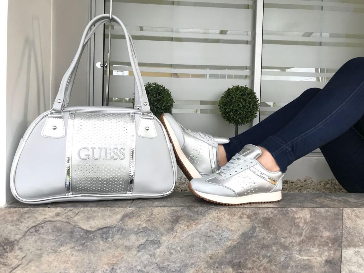 GuessDeportivo Zapatos Mujer bolso Combo vOnN8m0w