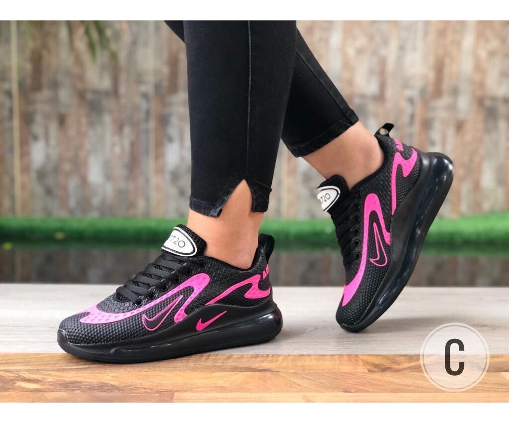 Combo Zapatos Nike Air Max 720 + Bolso Dama Gym Colombianos