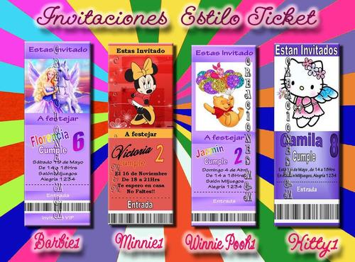 combo3: invitacion + sobre + bolsitas+ souvenirs- 20p