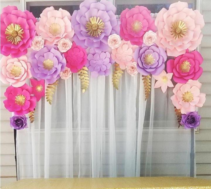Combos de flores de papel para decorar eventos - Detalles de decoracion para casa ...