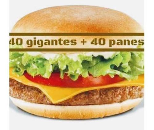 combos de hamburguesas súper y vienas súper con pan.