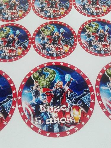 combos sticker etiquetas autoadhesivas candy bar
