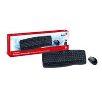 Teclado Y Mouse Genius Kb-8000x Inalambrico Usb Español