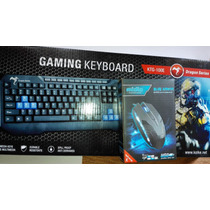 Combo Gamers Mouse Y Teclado Gamer