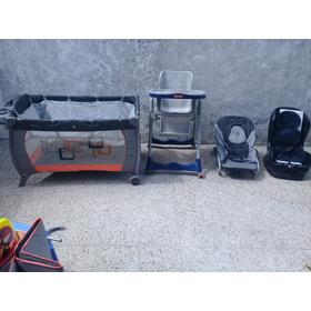 Combo:silla Para Comer+silla Hamaca+silla De Auto+practicuna