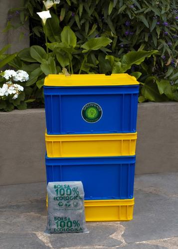 combostera compostera de boca 40 l greenheads redcompostaje