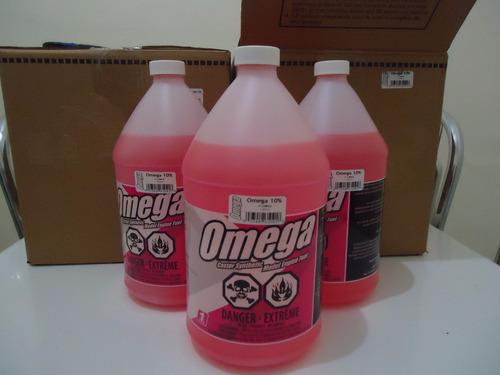 combustível glow omega 10% aeromodelos