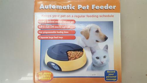 comedero automatico para mascotas