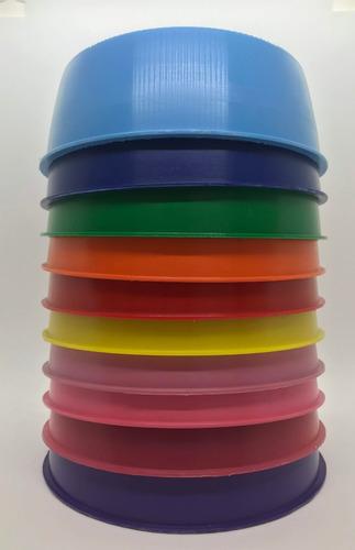 comedero bebedero plastico para mascotas por mayor x 100u