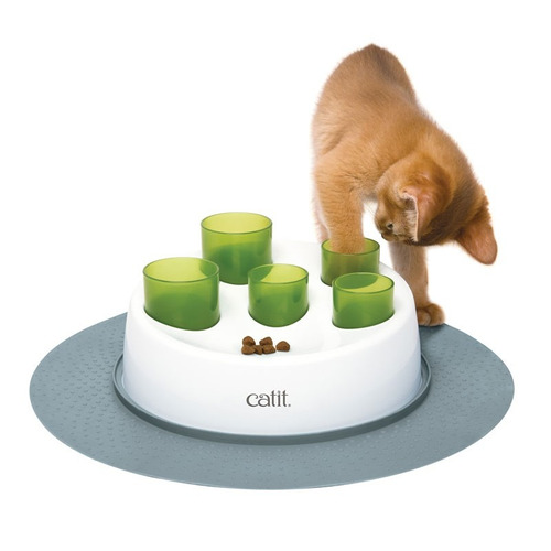 comedero para gatos cat it senses 2.0 digger + envío gratis