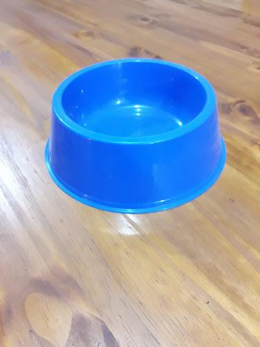 comedero plástico grande para perros y gatos varios colores