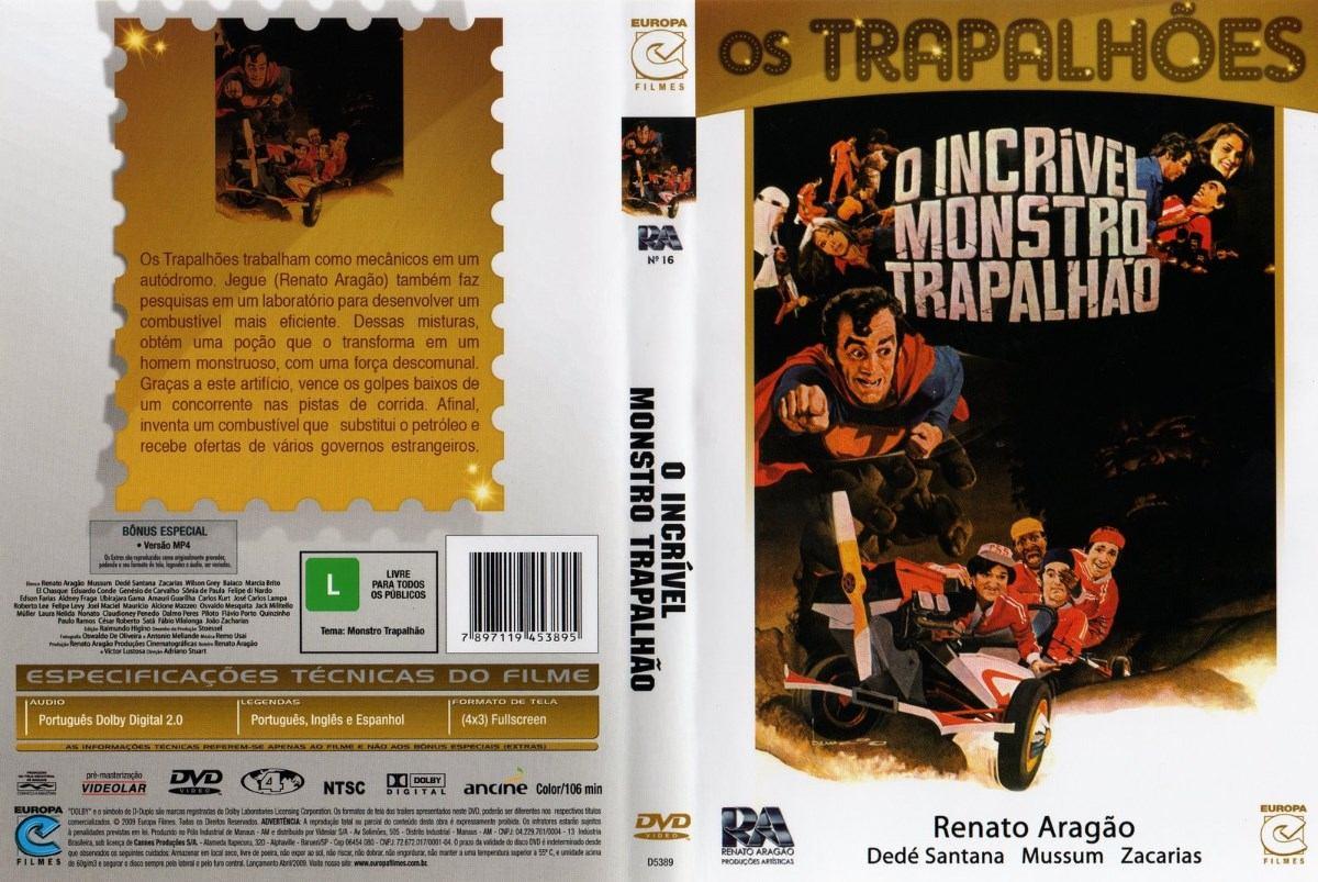 Filmes De Comedia Dos Anos 80 throughout filme os trapalhões antigo anos 80 comédia brasileira dvd - r$ 25