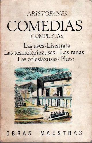 comedias completas volumen 2 de aristófanes