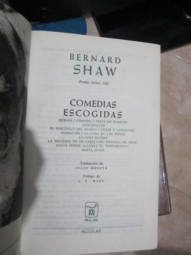 comedias escogidas - g.b.shaw - editorial aguilar