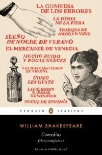comedias. obra completa shakespeare 1 - william shakespeare