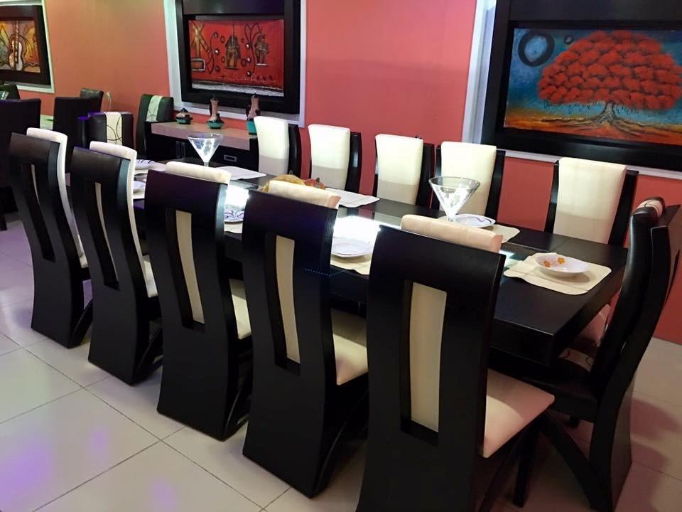 Comedor 12 sillas rectangular moderno comedores 28 000 for Comedores 12 de octubre