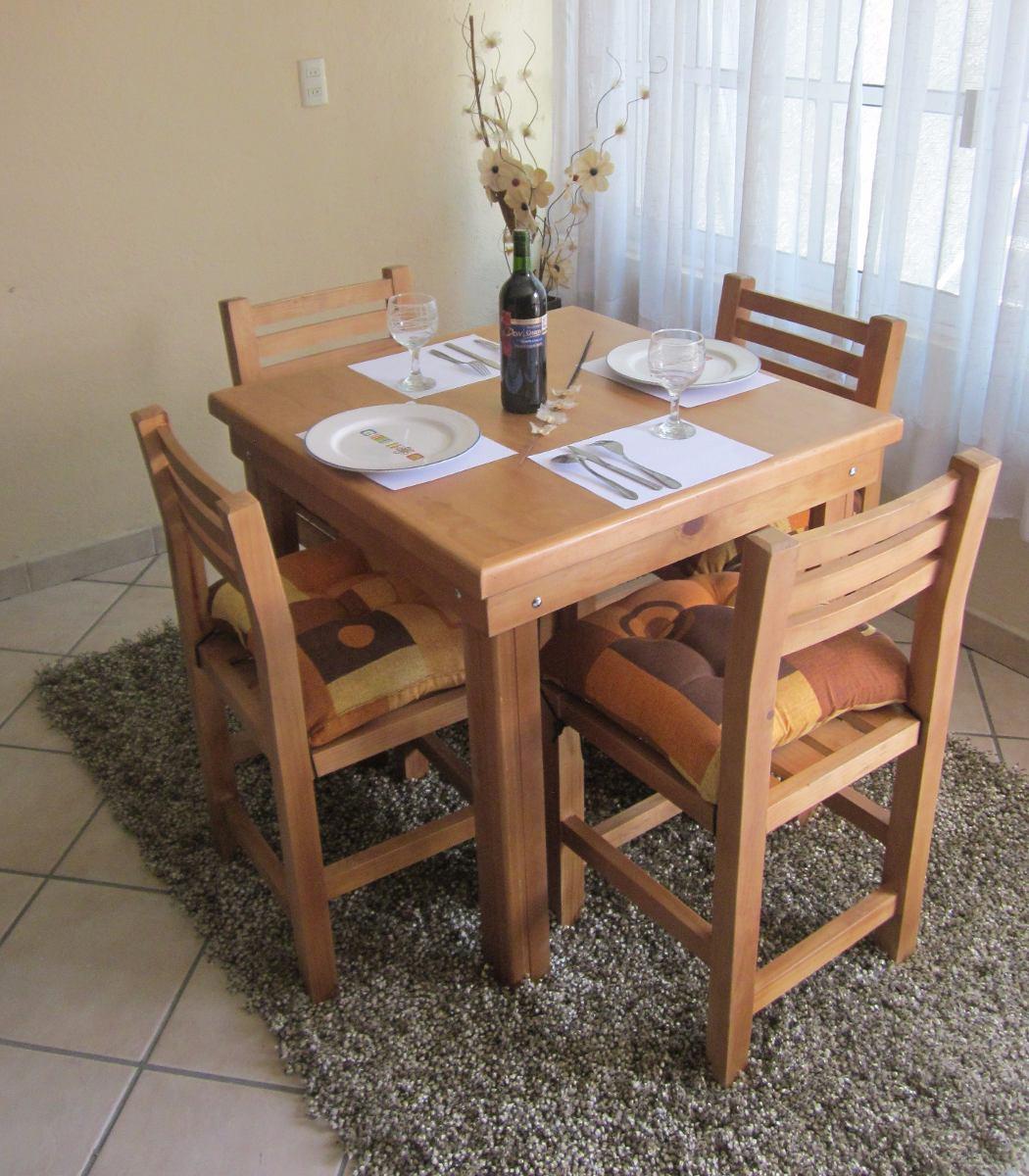 Comedor 4 Personas Avellana De Vanely Muebles - $ 3,790.00 en ...