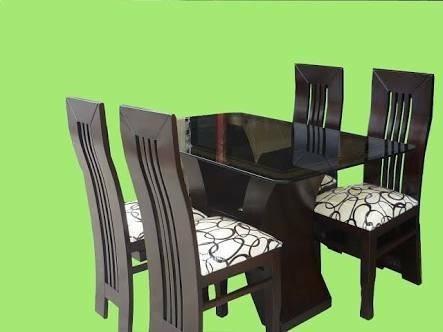 comedor 4 sillas nueva sala