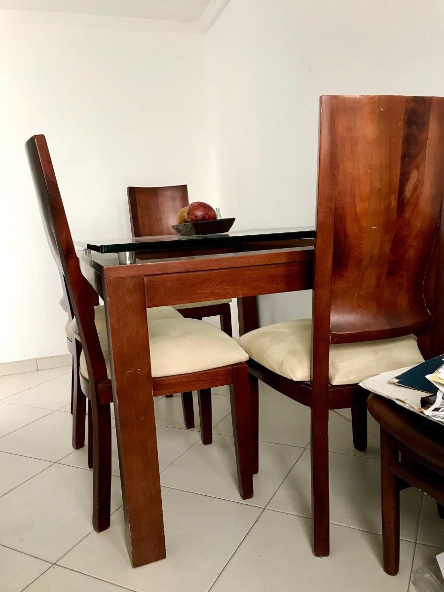 Comedor 6 Puestos- Madera Cedro// Precio Negociable! - $ 2.000.000