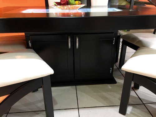 comedor 6 sillas minimalista moderno onix