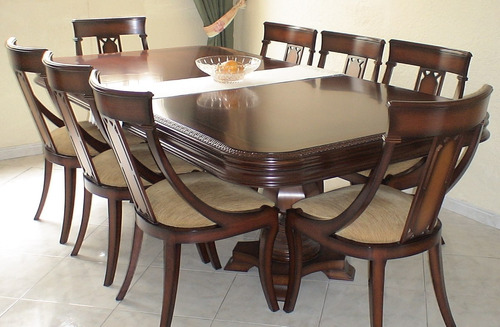 mesa de comedor 8 puestos