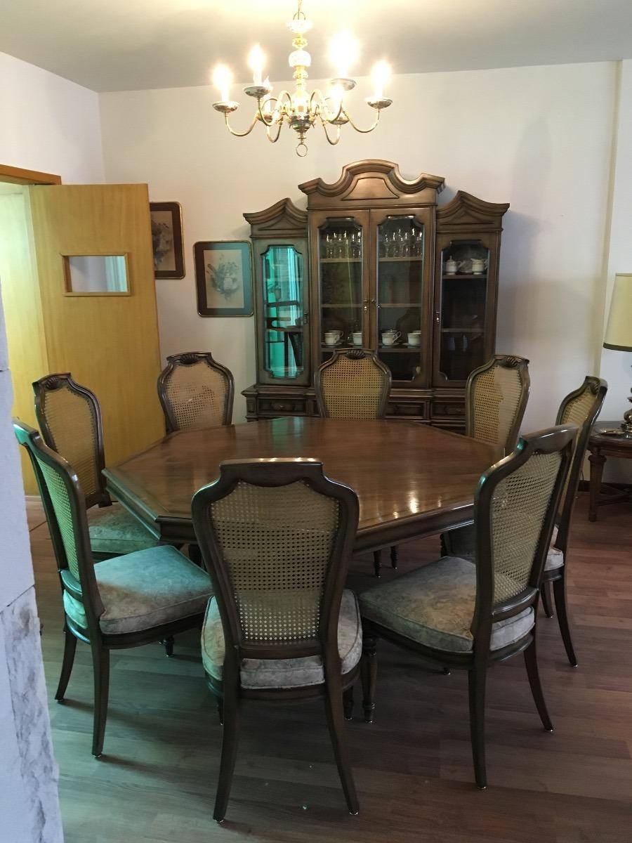 Comedor Antiguo De Caoba - Pieza Única - Impecable - $ 50,000.00 en ...