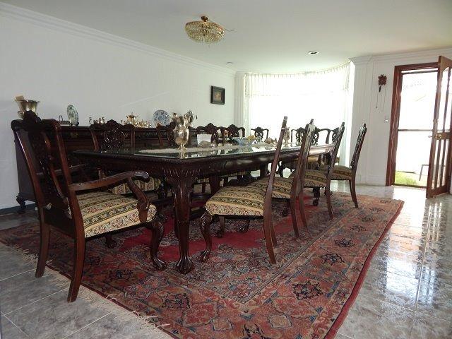 Comedor Antiguo De Coleccion Chipendele (70 Años ) - U$S 48,000.00 ...
