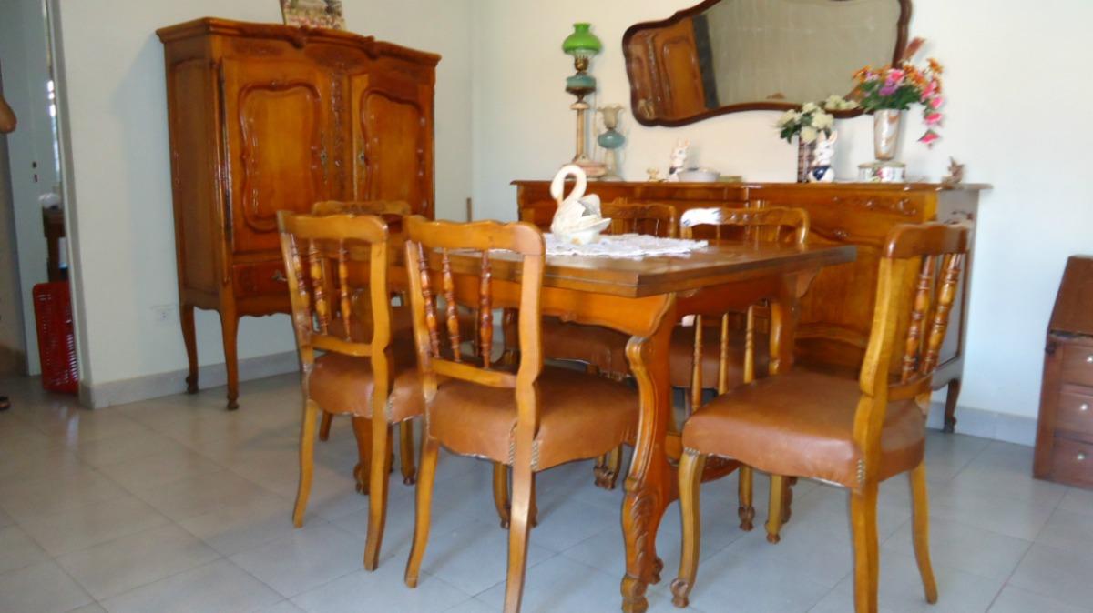 Juego De Comedor Antiguo Estilo Provenzal - $ 35.000,00 en Mercado Libre