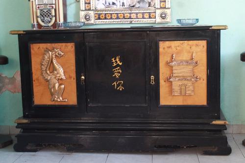 comedor antiguo oriental de 3 piezas