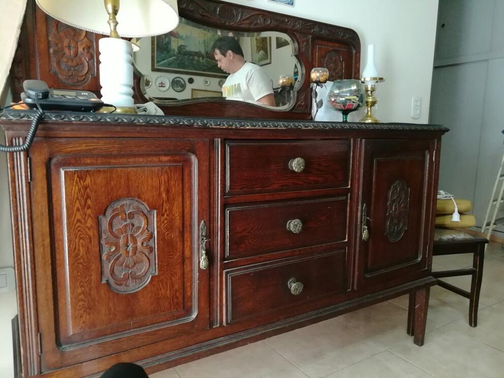 Comedor Antiguos Muebles En Excelente Estado - $ 17.999,00 en ...