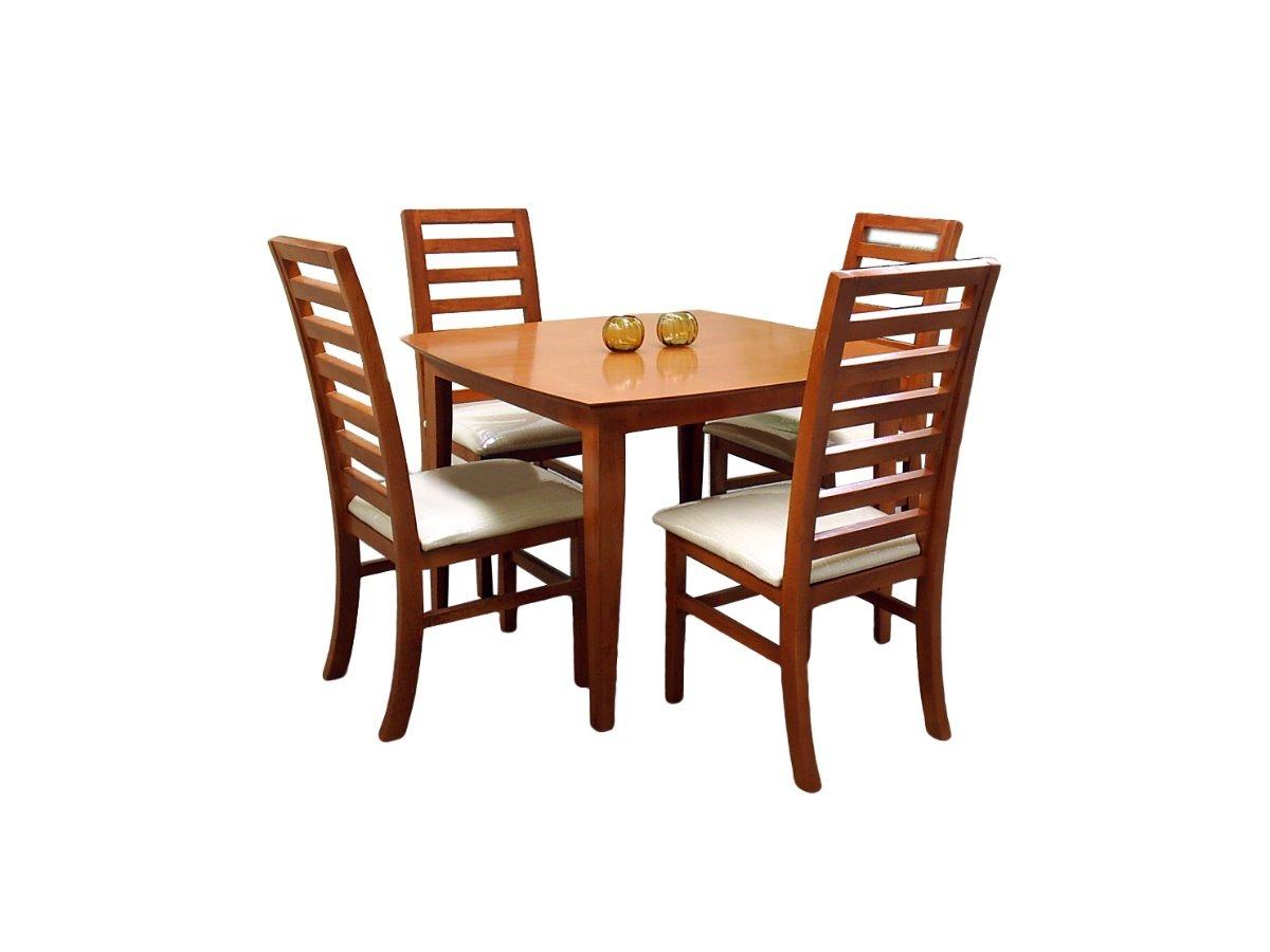 Comedor arsen fabou muebles 4 sillas moderno madera - Modelos sillas comedor ...