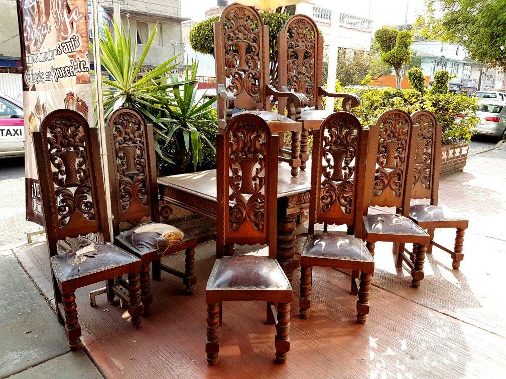 Comedor Colonial Español Antiguo..!! - $ 60,000.00 en Mercado Libre