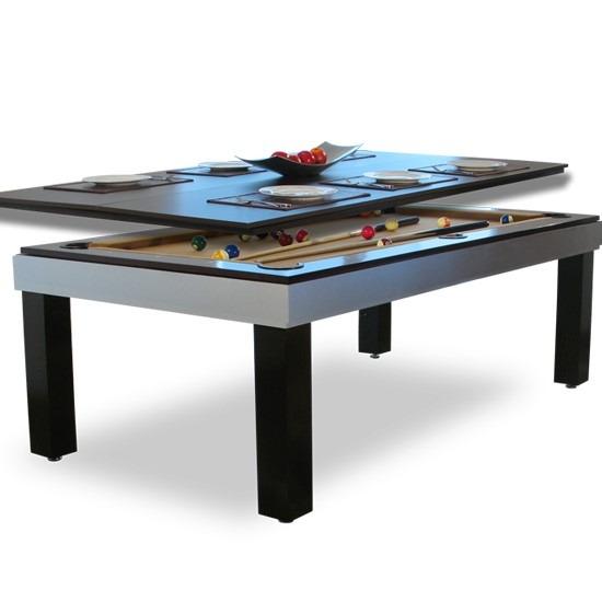 Comedor con mesa de billar modelo bilie 22 en for Mesas de billar modernas